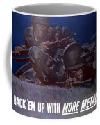 Back 'em Up -- Ww2 Coffee Mug