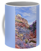 Back Of Zion Coffee Mug