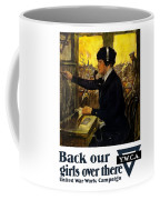 Back Our Girls Over There Coffee Mug by War Is Hell Store