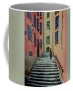 Back Street In France Coffee Mug