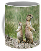 Back To Back Prairie Dogs Coffee Mug