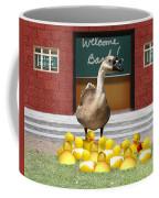 Back To School Little Duckies Coffee Mug