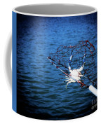 Back To The Bay Blue Crab Coffee Mug