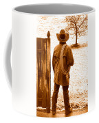 Back To Work - Sepia Coffee Mug