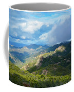 Backbone Trail Santa Monica Mountains Coffee Mug