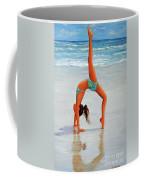 Backflip At The Beach Coffee Mug