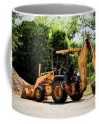 Backhoe And Loader 12118 Coffee Mug