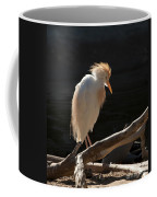 Backlit Egret Coffee Mug