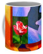 Backlit Roses Coffee Mug