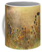 Backlit Thistle Coffee Mug