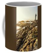 Backpacking A Tropical Sundown Coffee Mug