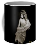 Backside In Black And White Coffee Mug