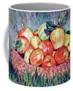 Backyard Apples Coffee Mug
