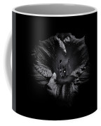 Backyard Flowers In Black And White 26 Coffee Mug