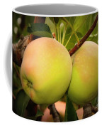 Backyard Garden Series - Two Apples Coffee Mug