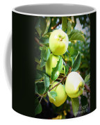 Backyard Garden Series- Golden Delicious Apples Coffee Mug