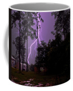 Backyard Lightning Coffee Mug