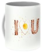 Bacon And Egg I Love You Coffee Mug