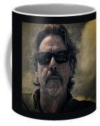 Badass Man In Sunglasses Stares Into The Unknown Coffee Mug