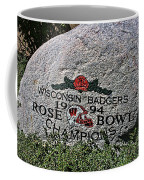 Badgers Rose Bowl Win 1994 Coffee Mug