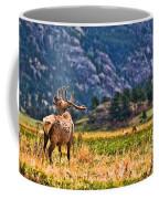Badlands Elk  Coffee Mug