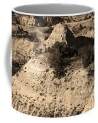 Badlands Sepia Coffee Mug