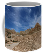 Badlands View From A Trail Coffee Mug