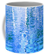 Baffling Blue Water Coffee Mug