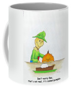 Baggs And Boo Canned Pumpkin Coffee Mug