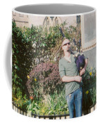 Bagpiper In Glastonbury Coffee Mug