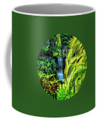 Bahamas - Tropical Waterfall Coffee Mug
