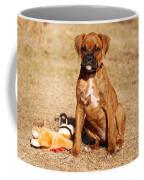 Bailey The Boxer Puppy Coffee Mug