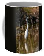 Bailey Tract Egret Two Coffee Mug