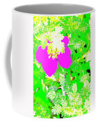 Baja Littleaf Rose Coffee Mug
