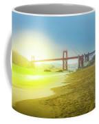 Baker Beach In San Francisco Coffee Mug