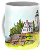 Baker Island Bar Harbor Maine Coffee Mug