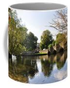 Bakewell Bridge And The River Wye Coffee Mug