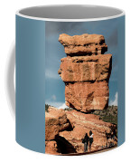 Balanced Rock At Garden Of The Gods Coffee Mug