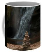 Balanced Stones Waterfall Coffee Mug