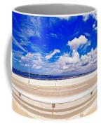 Balancing On Ringling Causeway Bridge Coffee Mug