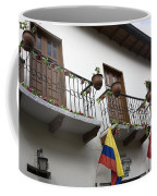 Balconies And Flags Coffee Mug