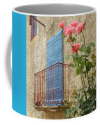 Balcony And Roses Coffee Mug