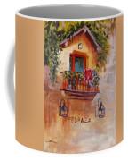 Balcony In Bloom Coffee Mug