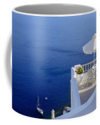 Balcony Over The Sea Coffee Mug by Joana Kruse