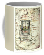 Balcony Venice Coffee Mug