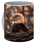 Bald Eagle Electrified Coffee Mug