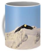 Bald Eagle Flying In Alaska Coffee Mug