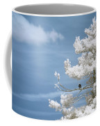 Bald Eagle In Infrared Coffee Mug by Brian Hale