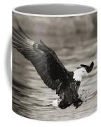 Bald Eagle Landing Coffee Mug