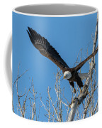 Bald Eagle Shows Its Focus Coffee Mug